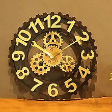 Large Wall Clock 15.7 inch-for Living Room,
