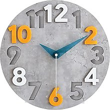 Large Wall Clock, Decorative Wall Clock with