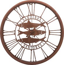 Large Wall Clock - Sardines Design