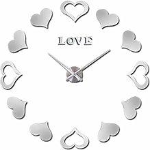 Large Wall Clock Sticker Decorative Wall Clocks