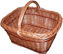 Large Wicker Willow Cookery/Shopping Basket