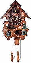 Large Wooden Cuckoo Clock, Black Forest Cuckoo