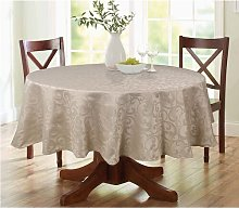 Lark Round Tablecloth Marlow Home Co.