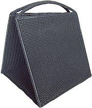 laroom 13334–Basket Clothes, Dark Grey