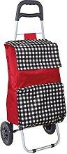 laroom Folding Shopping Cart with Pocket