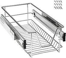 LARS360 300mm Pull Out Wire Storage Basket Drawer