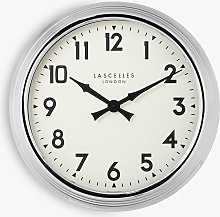 Lascelles Arabic Numeral Analogue Wall Clock,