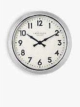 Lascelles Arabic Numeral Analogue Wall Clock,
