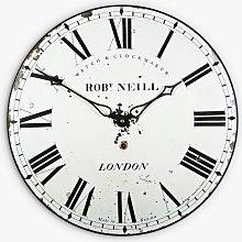 Lascelles London Clockmaker Wall Clock, 36cm, White