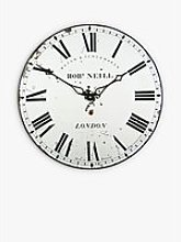 Lascelles London Clockmaker Wall Clock, 36cm, White