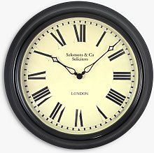 Lascelles Personalised Station Roman Numeral Wall