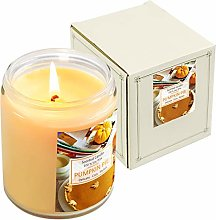 LASENTEUR Pumpkin Scented Candle Pumpkin Pie Spice