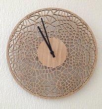 Laser cut 29cm diameter cell pattern wall clock