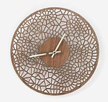 Laser cut voronoi cell 39cm diameter wall clock
