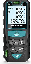 Laser Distance Meter 50M/165ft, Mileseey IP54