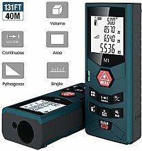Laser Measure 40m, SOSENST 131FT Digital Laser