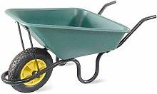 Lasher Concrete Polypan Wheelbarrow With Pneumatic