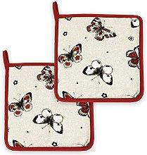 Lashuma® Red Butterfly Decorative Kitchen