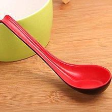 LASISZ 2 in 1 Long Handle Soup Spoon Home Strainer