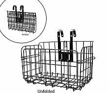 Latches Rear Bicycle Basket - Front Folding Rear