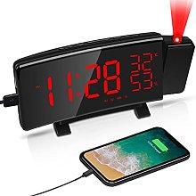 LATEC Alarm Clock, Projection LED Digital Clock