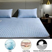 Latex Ice Silk Mat Cooling Washable Mattress