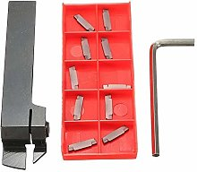 Lathe Tool Set Holder with 10pcs MGMN200 Carbide