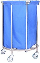 Laundry Basket,Cleaning Service Trolley With
