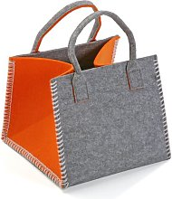 Laundry Basket Mercury Row Colour: Orange