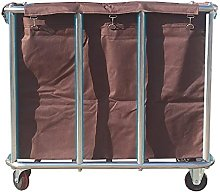 Laundry Basket, Rotatable Trolley, Practical Hotel