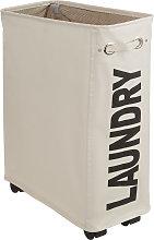 Laundry basket slim - beige