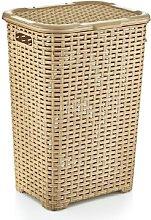 Laundry Basket Symple Stuff Colour: Beige