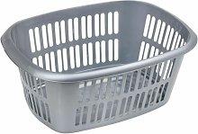 Laundry Basket Symple Stuff Colour: Silver