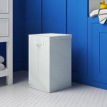 Laundry Basket Wayfair Basics Colour: Beige