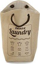 Laundry Bin August Grove Colour: Beige