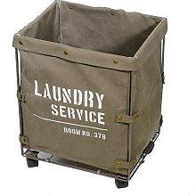 Laundry Bin August Grove Colour: Khaki