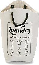 Laundry Bin August Grove Colour: White