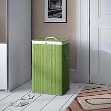 Laundry Bin Breakwater Bay Finish: Green