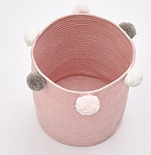 Laundry Bin Isabelline Colour: Pink