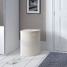 Laundry Bin Rebrilliant Finish: White