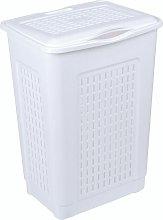Laundry Bin Symple Stuff Colour: White