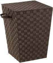 Laundry Bin with Cover August Grove Colour: Brown
