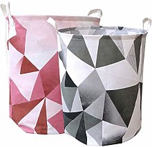 Laundry Hamper Canvas Fabric Laundry Basket