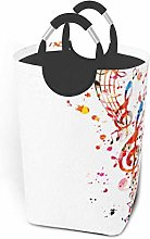 Laundry Hamper Colorful Music Laundry Basket Dirty