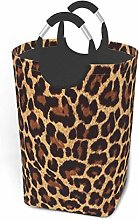 Laundry Hamper Cool Cheetah Leopard Storage Bin