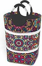 Laundry Hamper Festive Colorful Decorative Ethnic