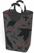 Laundry Hamper Halloween Crow Crow Blood Animal