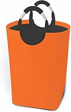 Laundry Hamper Storage Bin Orange Large