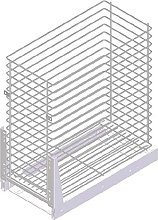 LAUNDRY Pull Out Storage Basket Soft Close (300mm,