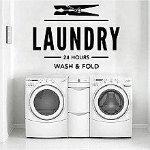 Laundry Wall StickersSelf Adhesive Art